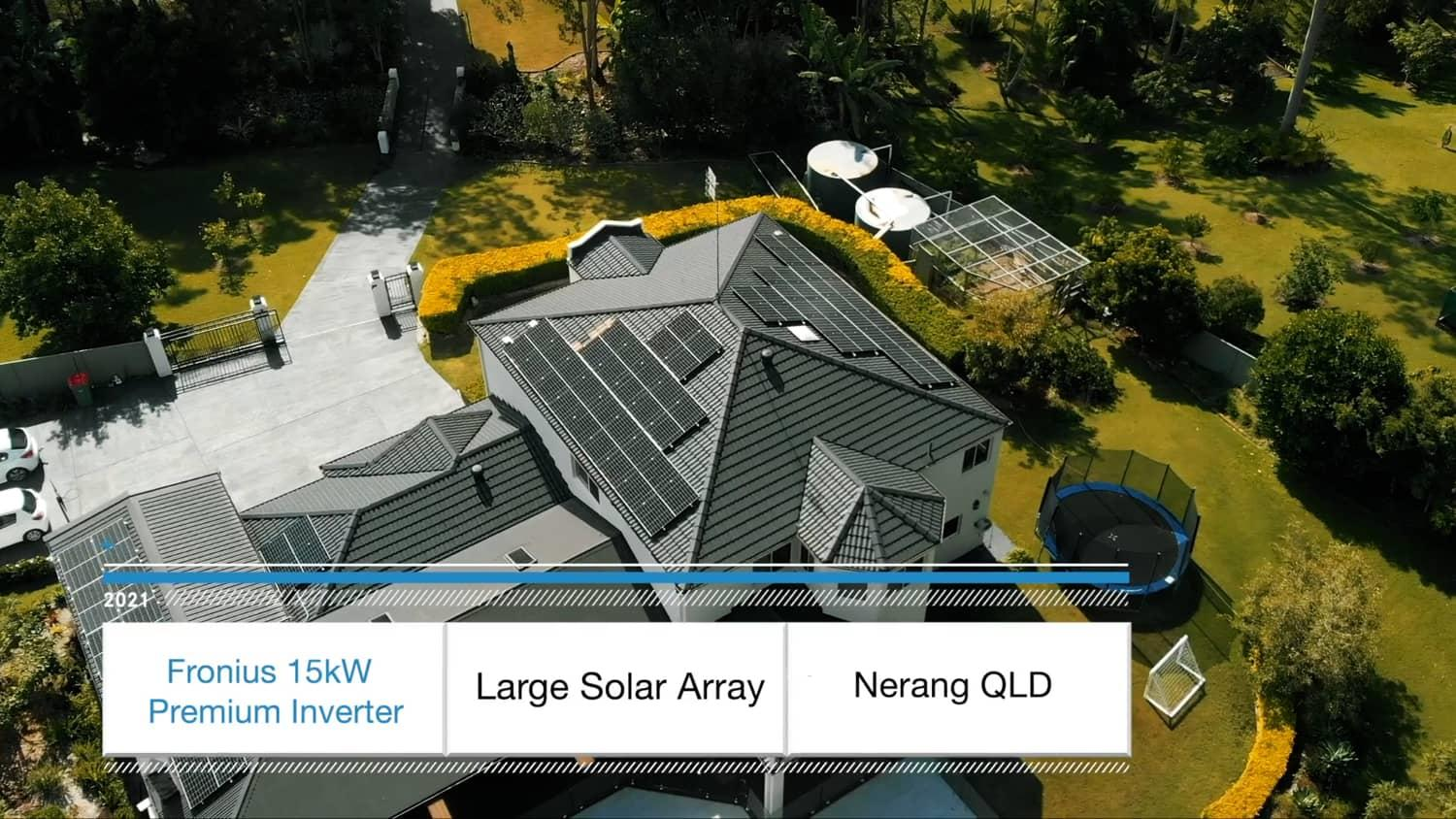 """Featured image for """"Fronius 15.5kW Solar Array Nerang Gold Coast"""""""